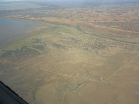 Wooleen Exclosure fence to protect lake from animals padding_BGray